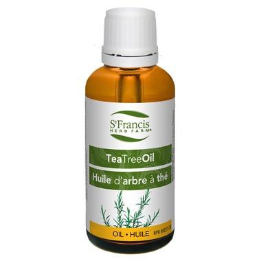 St. Francis Herb Farm Tea Tree Oil, 100 ml   NutriFarm.ca