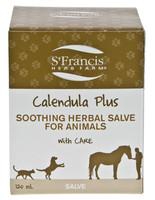 St. Francis Herb Farm Calendula Pet Salve, 120 ml | NutriFarm.ca