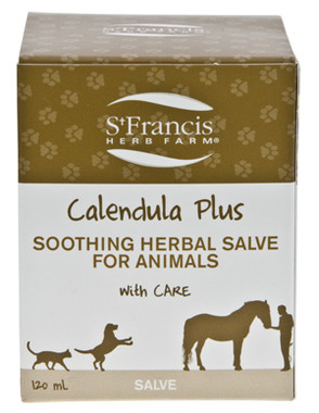 St. Francis Herb Farm Calendula Pet Salve, 120 ml | NutriFarm.ca