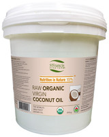 St. Francis Herb Farm Raw Organic Virgin Coconut Oil, 1.816 kg | NutriFarm.ca