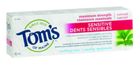 Tom's of Maine Sensitive Toothpaste Soothe Mint, 82 ml | NutriFarm.ca