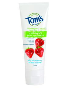 Tom's of Maine Silly Strawberry Toothpaste, 85 ml | NutriFarm.ca