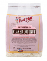 Bob's Red Mill Coconut Flakes Unsweetened, 340 g | NutriFarm.ca