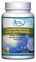 Omega Alpha Essential Fatty Acids, 90 Gel Capsules | NutriFarm.ca