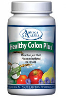 Omega Alpha Healthy Colon Plus, 180 Vegetable Capsules | NutriFarm.ca