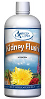 Omega Alpha Kidney Flush, 500 ml | NutriFarm.ca