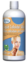 Omega Alpha Liquid Colloidal Silica, 500 ml | NutriFarm.ca