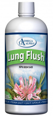 Omega Alpha Lung Flush, 500 ml   NutriFarm.ca