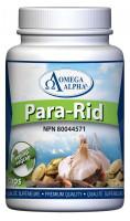 Omega Alpha Para-Rid, 90 Vegetable Capsules | NutriFarm.ca
