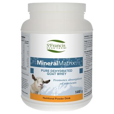 St. Francis Herb Farm Mineral Matrix Goat Whey, 1.44 kg   NutriFarm.ca