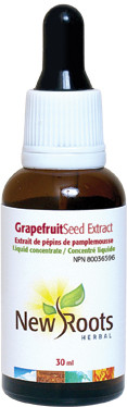 New Roots Grapefruit Seed Extract, 30 ml | NutriFarm.ca