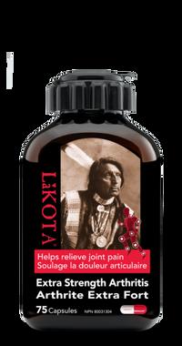 Lakota Extra Strength Arthritis, 75 Capsules | NutriFarm.ca