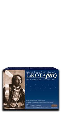 Lakota PM Nighttime Pain relief, 20 Caplets | NutriFarm.ca