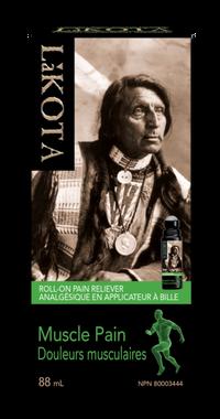 Lakota Muscle Pain Roll on, 88 ml | NutriFarm.ca