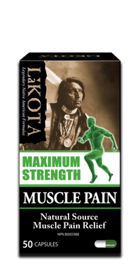 Lakota Maximum Strength Muscle Pain, 50 Capsules | NutriFarm.ca