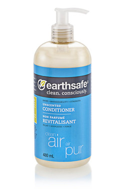 earthsafe Clean Air Unscented Conditioner, 480 ml | NutriFarm.ca