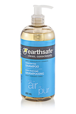earthsafe Clean Air Unscented Shampoo, 480 ml | NutriFarm.ca
