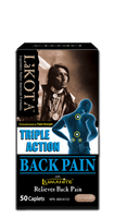 Lakota Triple Action Back Pain, 50 Capsules | NutriFarm.ca