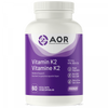 AOR Vitamin K2, 60 Vegetable Capsules | NutriFarm.ca