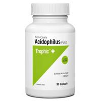 Trophic Acidophilus Plus, 90 Capsules | NutriFarm.ca