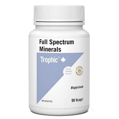 Trophic Full Spectrum Minerals, 90 Vegetable Capsules | NutriFarm.ca