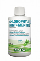 Land Art Chlorophyll Mint, 500 ml | NutriFarm.ca