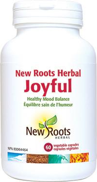New Roots Joyful, 60 Veg Caps | NutriFarm.ca