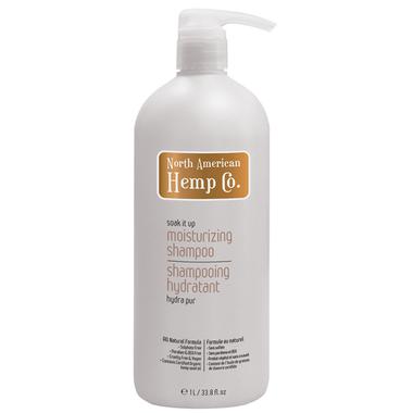 North American Hemp Moisturizing Shampoo, 1 L | NutriFarm.ca