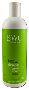 BWC(Beauty Without Cruelty) Shampoo Rosemary Mint Tea Tree Hair and Scalp Treatment, 473 ml | NutriFarm.ca