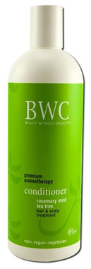 BWC(Beauty Without Cruelty) Conditioner Rosemary Mint Tea Tree Hair and Scalp Treatment, 473 ml | NutriFarm.ca