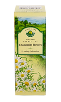 Herbaria Chamomile Flowers, 25 Tea Bags | NutriFarm.ca