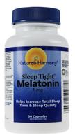 Nature's Harmony Melatonin 1 mg, 90 Capsules | NutriFarm.ca