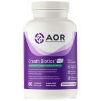AOR Advanced Breath Biotics, 60 Lozenges | NutriFarm.ca