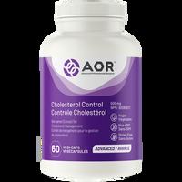 AOR Cholesterol Control (Formerly Opti-Cholest), 60 Vegetable Capsules   NutriFarm.ca