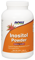 NOW Inositol powder, 227 g | NutriFarm.ca