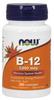 NOW B-12 1000 mcg with Folic Acid 100 mcg, 250 Lozenges | NutriFarm.ca