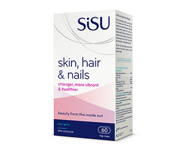 SISU Skin, Hair & Nails, 60 Veg Caps | NutriFarm.ca