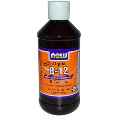 NOW B-12 Liquid B-Complex, 237 ml | NutriFarm.ca