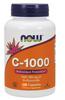 NOW C-1000 with 100 mg Bioflavonoids, 250 Vegetable Capsules | NutriFarm.ca