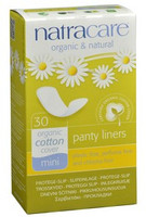 Mini Panty Liners, 30 curved liners | NutriFarm.ca