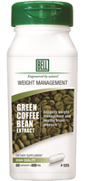 Bell Green Coffee Extract 400 mg, 60 Capsules | NutriFarm.ca