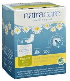 Ultra Pads with Wings Regular, 14 pads   NutriFarm.ca