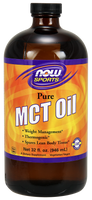 MCT Oil 100% pure, 946 ml | NutriFarm.ca