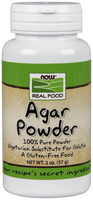 NOW Agar Powder, 57 g | NutriFarm.ca