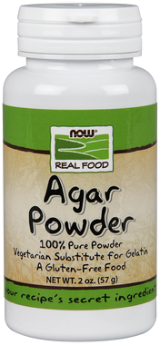 NOW Agar Powder, 57 g | NutriFarm.ca