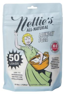 Nellie's Laundry Soda, 50 Loads | NutriFarm.ca