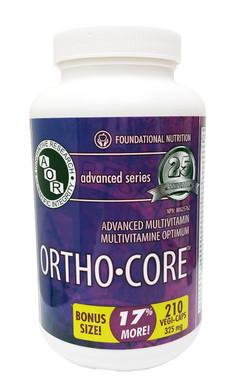 AOR Ortho Core, 180 + 30 FREE Veg Capsules | NutriFarm.ca