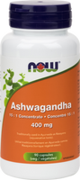 NOW Ashwagandha extract 400 mg, 90 Vegetable Capsules | NutriFarm.ca