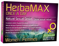 HerbaMax Women – Once a Day, 30 Capsules | NutriFarm.ca