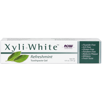 NOW Xyliwhite Refreshmint Toothpaste gel, 181 g | NutriFarm.ca